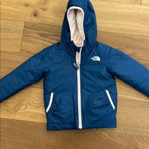 North face reversible 2T down coat worn once